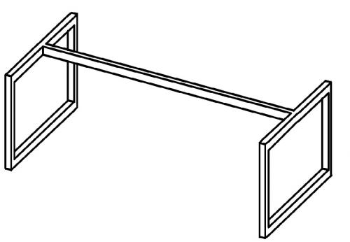 Stelaż szeroki niski HXS 04
