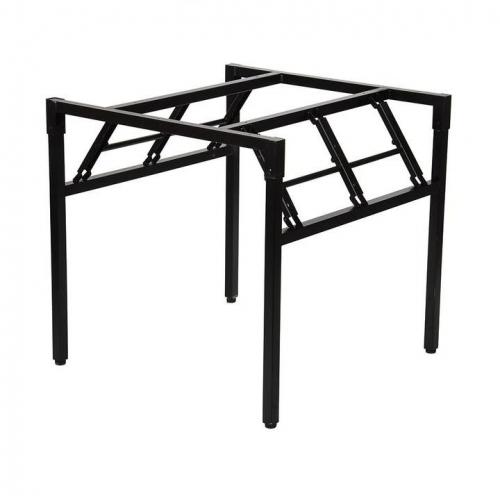 Stelaż składany do stołu i biurka EF-24/C-K - czarny kwadrat  76x76x72,5h