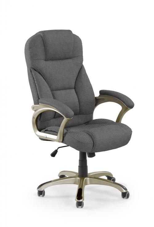 DESMOND 2 fotel gabinetowy ciemny popielaty