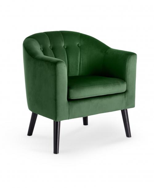 MARSHAL fotel wypoczynkowy ciemny zielony