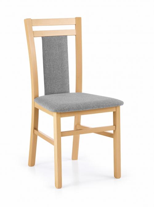 HUBERT8 krzesło dąb miodowy / tap: Inari 91 (1p=2szt)