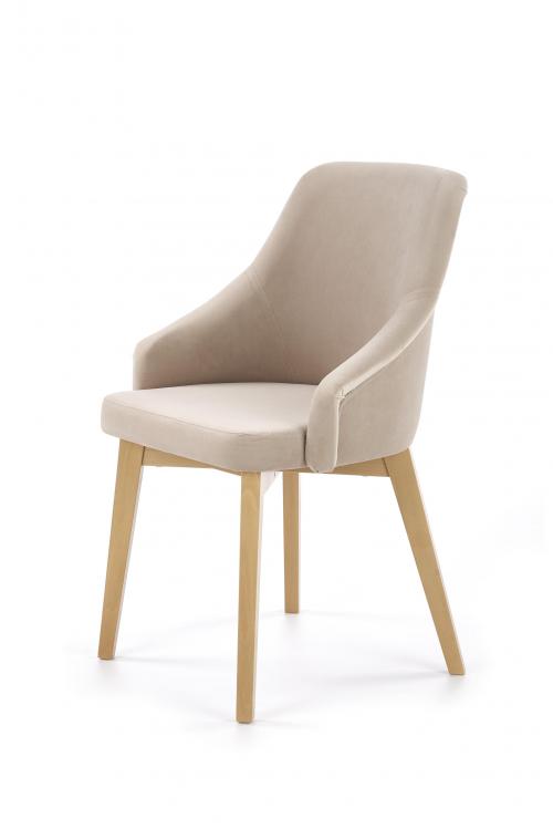 TOLEDO 2 krzesło dąb miodowy / tap. Solo 252 (1p=1szt)