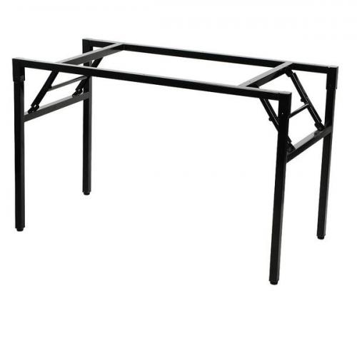 Stelaż składany do stołu i biurka EF-24C-P czarny - 116x66 cm