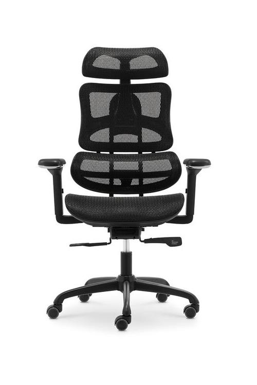 Fotel Obrotowy Ergotech czarny