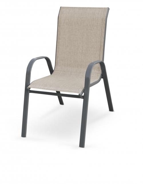 MOSLER krzesło ogrodowe popiel (1p=1szt)