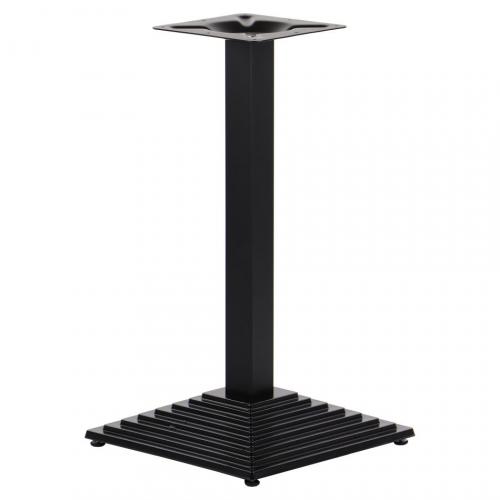 Podstawa do stolika EF-SH-5014-1/60/B - żeliwna wysokość 72,5 cm 41x41 cm