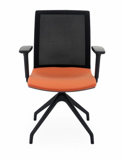 Krzesło konferencyjne obrotowe Level Cross BS R1
