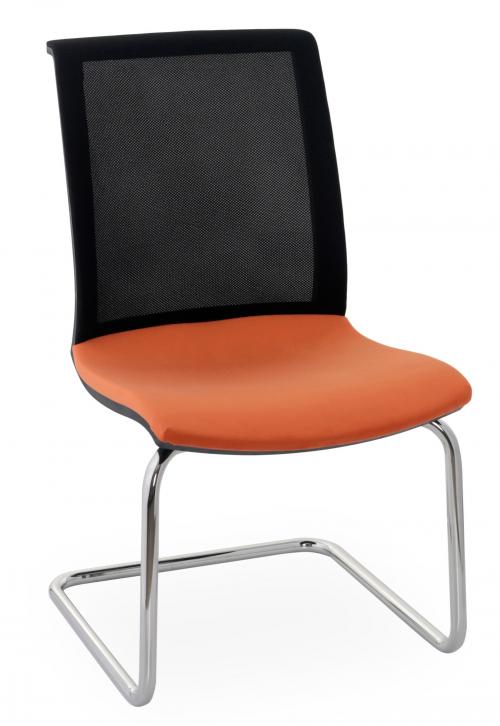 Krzesło konferencyjne Level V BS Chrome