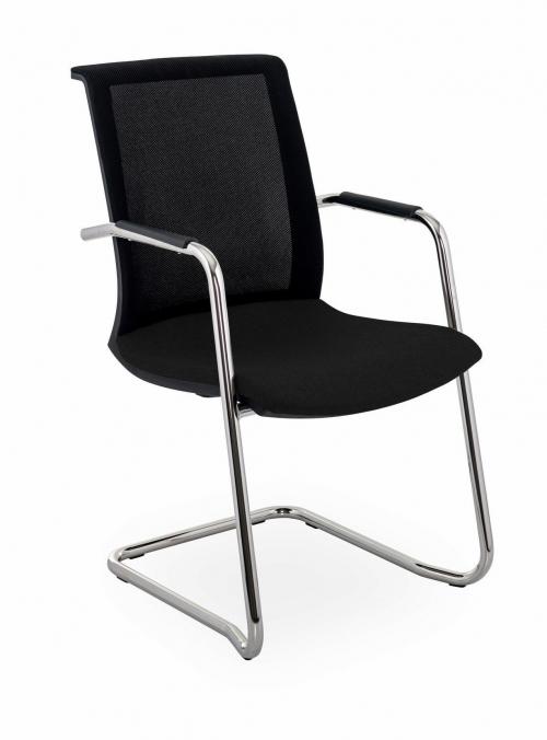 Krzesło konferencyjne Level V BS Arm Chrome