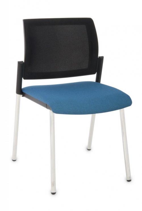 Krzesło konferencyjne Set Net Chrome