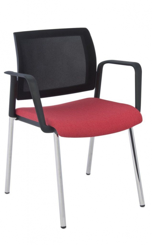 Krzesło konferencyjne Set Net Arm Chrome