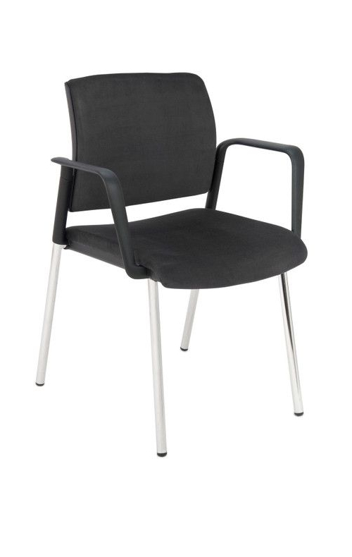 Krzesło konferencyjne Set Arm Chrome