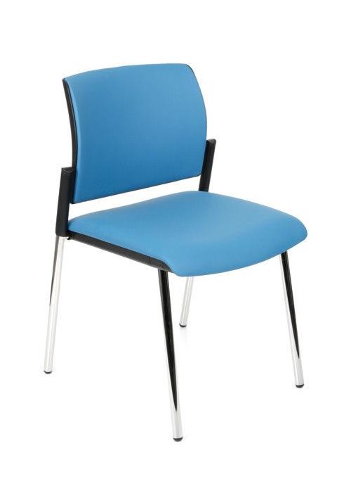 Krzesło konferencyjne Set Chrome