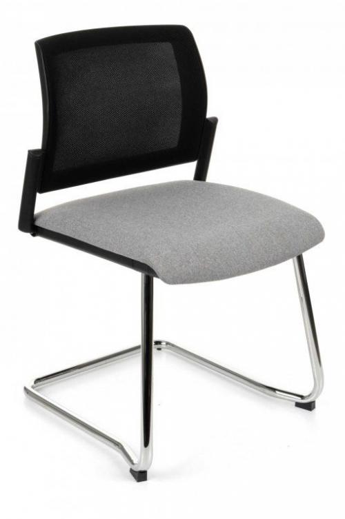 Krzesło konferencyjne Set V Net Chrome