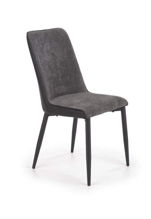 K368 krzesło w kolorze popielatym- ciemny popielatym (1p=2szt)