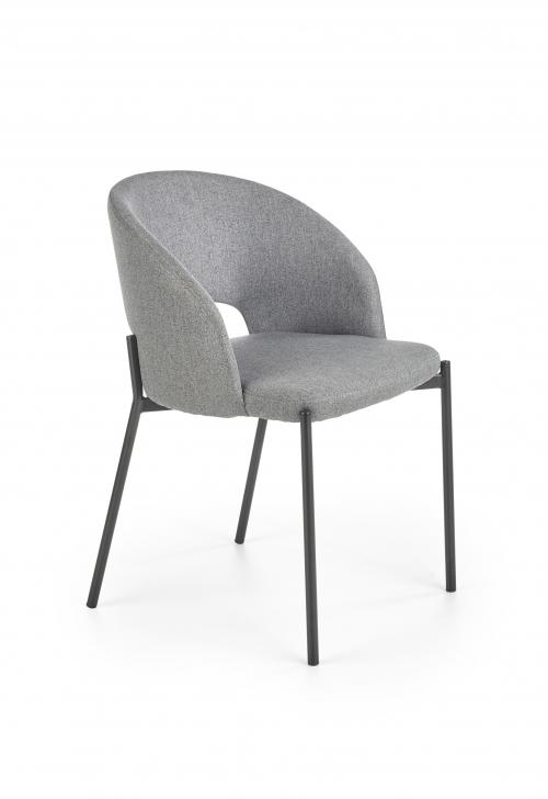 K373 krzesło w kolorze popielatym (1p=2szt)