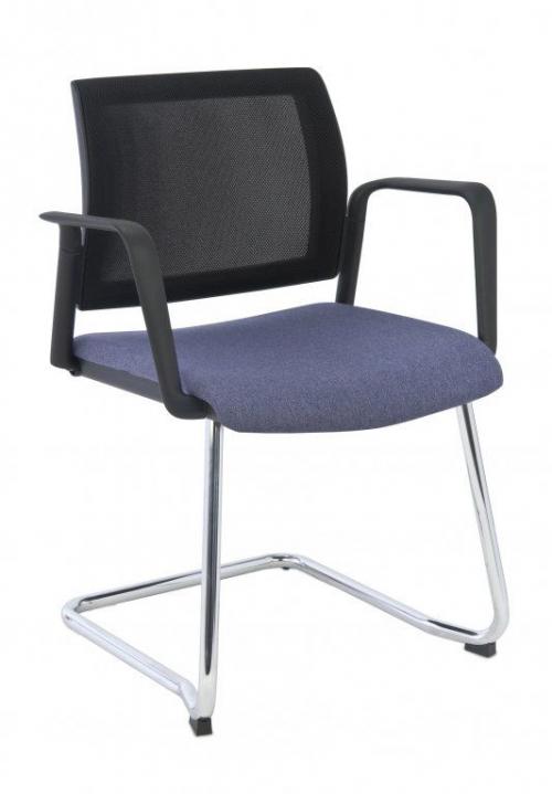 Krzesło konferencyjne Set V Net Arm Chrome