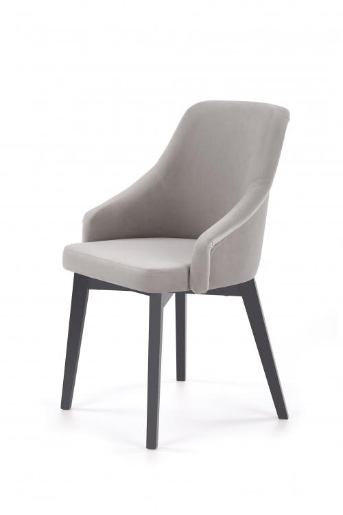 TOLEDO 2 krzesło grafitowy / tap. Solo 265 (1p=1szt)