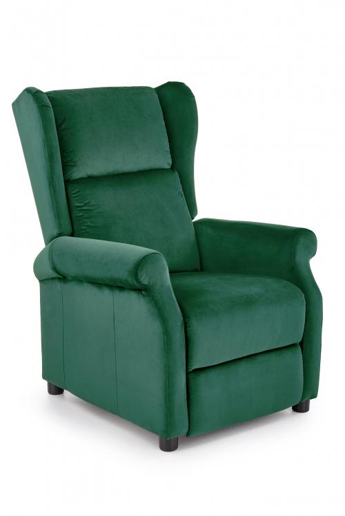 AGUSTIN 2 fotel wypoczynkowy ciemny zielony (1p=1szt)