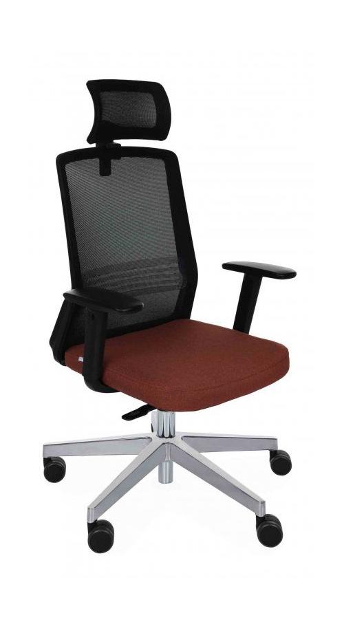 Fotel Biurowy obrotowy COCO BS HD CHROME