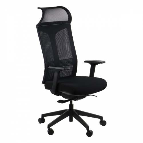 Fotel obrotowy RYDER czarny