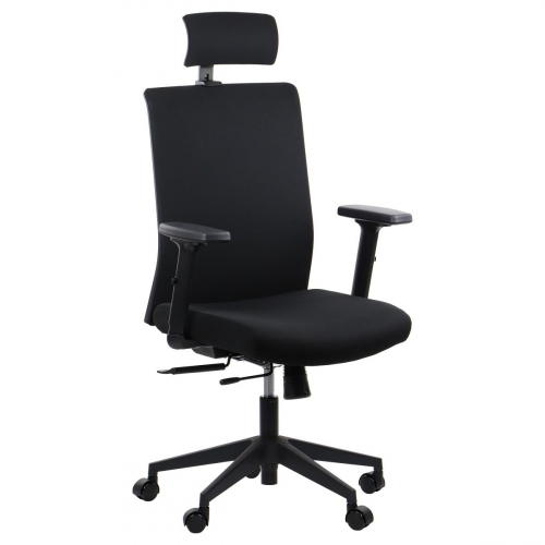 Fotel Biurowy Obrotowy RIVERTON F/H czarny