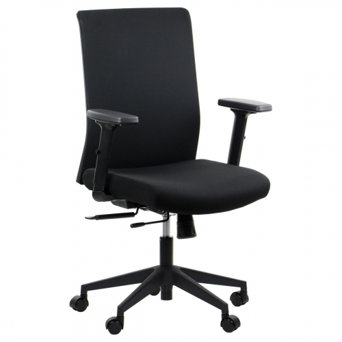 Fotel Biurowy Obrotowy RIVERTON F/L czarny