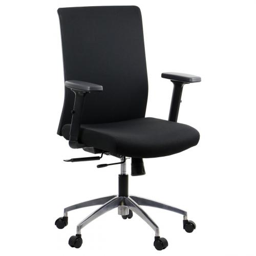Fotel Biurowy Obrotowy RIVERTON F/L-ALU czarny