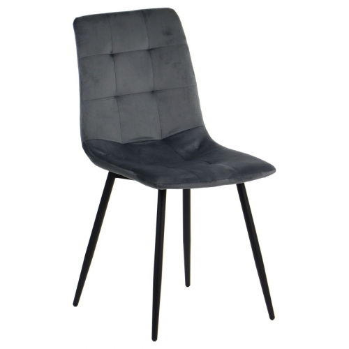Krzesło dostawne CN-6004 szary