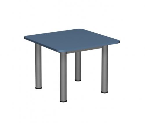 Stolik MB kwadratowy metal fi 60/ opcja regulacja wysokości