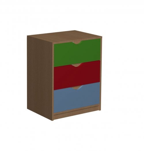 Regał z 3 szufladami 14 Małgosia