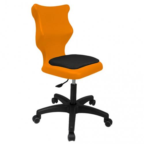 ENTELO Dobre Krzesło obrotowe TWIST soft nr 5 - bez podłokietników