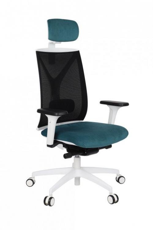 Fotel biurowy Valio WS HD White