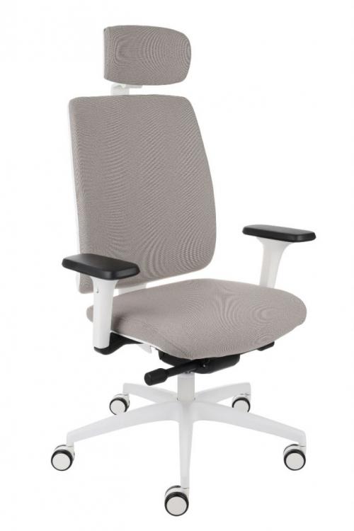 Fotel biurowy Valio WT HD White