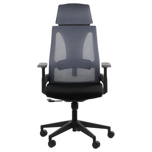 Fotel biurowy obrotowy OLTON H SZARY