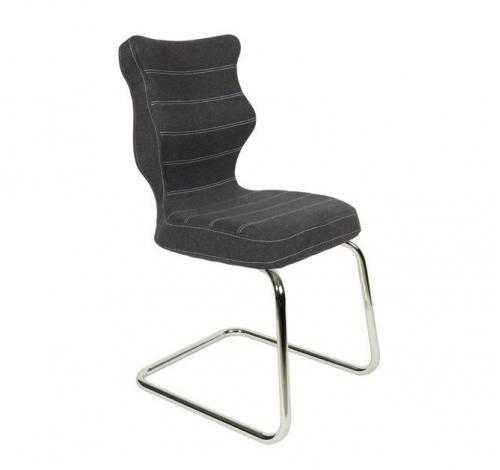 Krzesło konferencyjne NERO nr 6 - podstawa chromowana