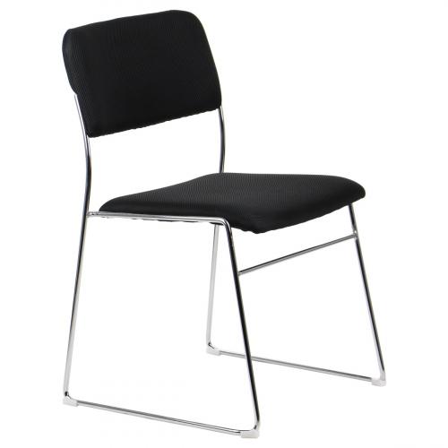 Krzesło dostawne CN-62/CH CZARNY