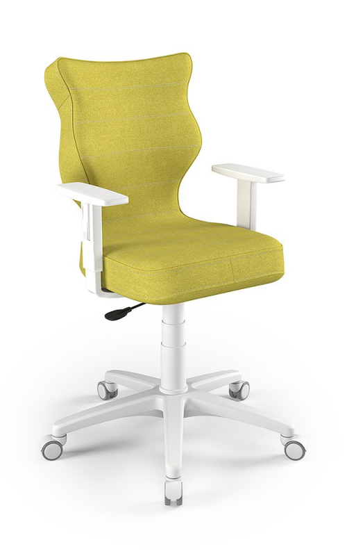 ENTELO Dobre Krzesło obrotowe Duo nr 6 - podstawa biała