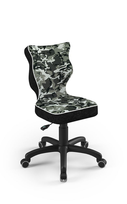ENTELO Dobre krzesło obrotowe PETIT nr 4 - podstawa czarna