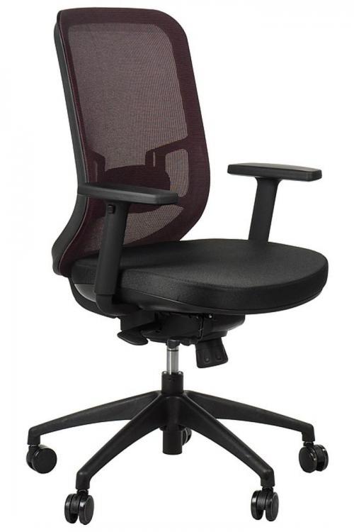 Fotel Biurowy Obrotowy  EF-GN310 z wysuwem siedziska, bordo
