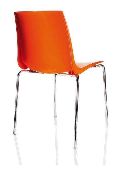 Krzesło konferencyjne ARI pomarańczowe