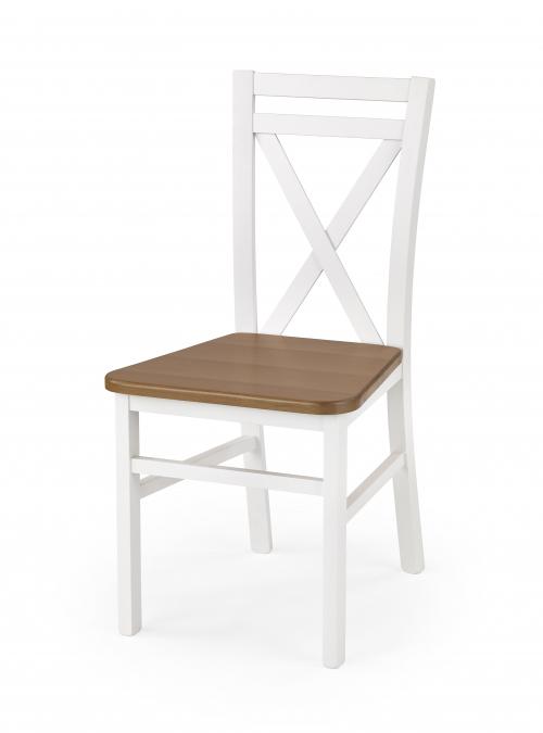 Krzesło konferencyjne DARIUSZ 2 - biały/olcha