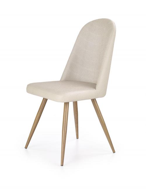 Krzesło konferencyjne K214 - dąb miodowy