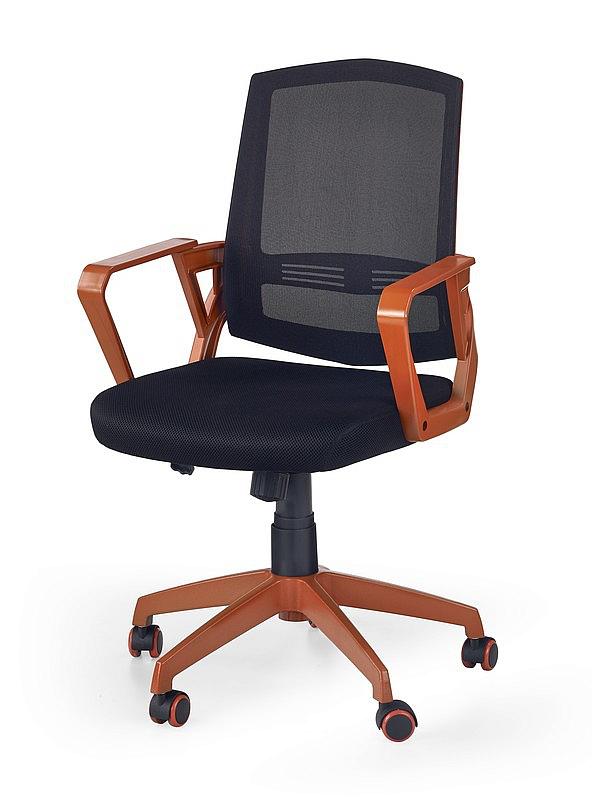 Fotel obrotowy ASCOT - pomarańczowy