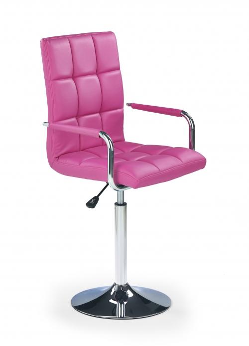 Fotel obrotowy GONZO - różowy