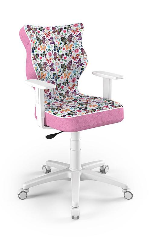ENTELO Dobre Krzesło obrotowe Duo nr 5 - podstawa biała
