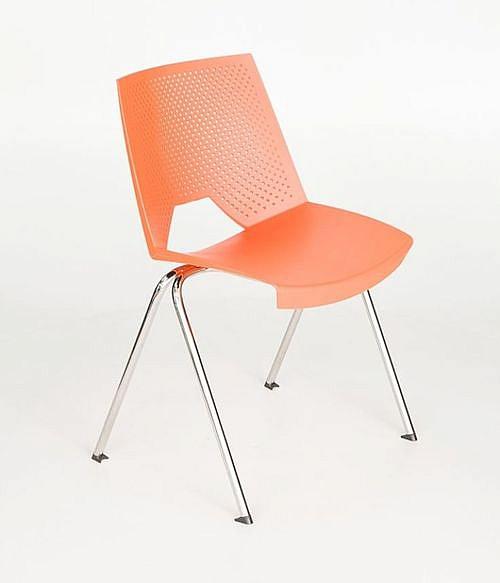 Krzesło konferencyjne STRIKE - na 4 nogach