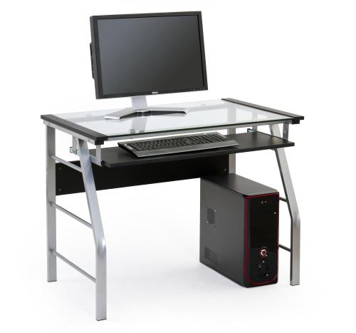 B18 biurko czarny