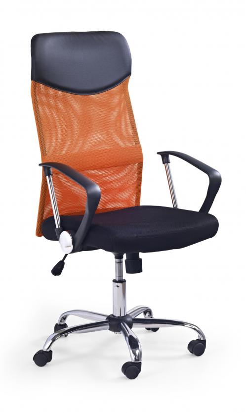 VIRE fotel obrotowy pomarańczowy