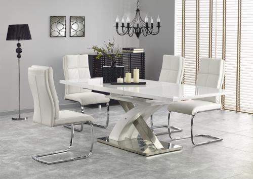 Stół SANDOR 2 biały - rozkładany